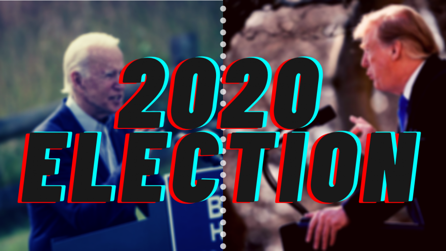 Trump and Biden are the front runners in the 2020 election.