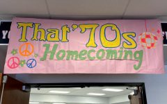 While homecoming week still featured a spirit week & pep assembly, the dance has been put on hold for now.