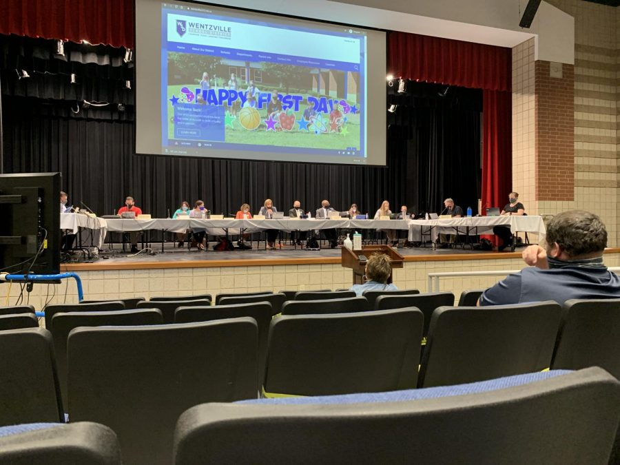 The WSD School Board voted and approved moving to level 1, where students are able to attend school five days a week.  All Option 1 students will have to attend school in-person and cannot switch to Option 2, as the Virtual Learning Academy would be understaffed if it were to increase in enrollment.