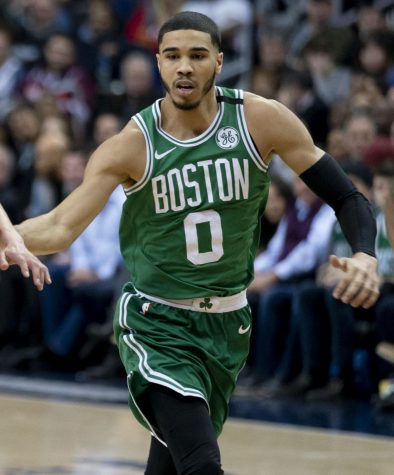 Jayson Tatum, NBA star of the Boston Celtics, is from the St. Louis area. He attended Chaminade for high school.