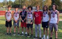 The boys cross country team won their first ever conference title.