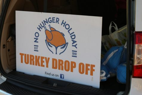 "The turkey drive was in partnership with the St. Charles County Juvenile Office's ""No Hunger Holiday."""