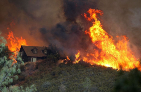 Multiple wildfires out west have made devastating changes as thousands of people were told to evacuate their homes, and the air quality is rapidly declining from all of the smoke.