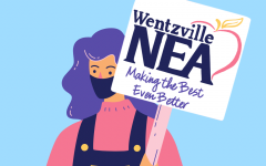 The Wentzville National Education Association urges Wentzville School District to stick with CDC guidelines in school.
