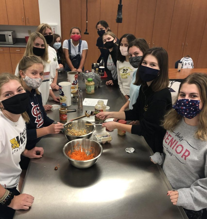 FCCLA has been one of the more active clubs at Liberty. In October, made dog treats among other projects. Similar to other clubs, FCCLA is not meeting in person due to LHS going virtual. They recently had their holiday party virtually.
