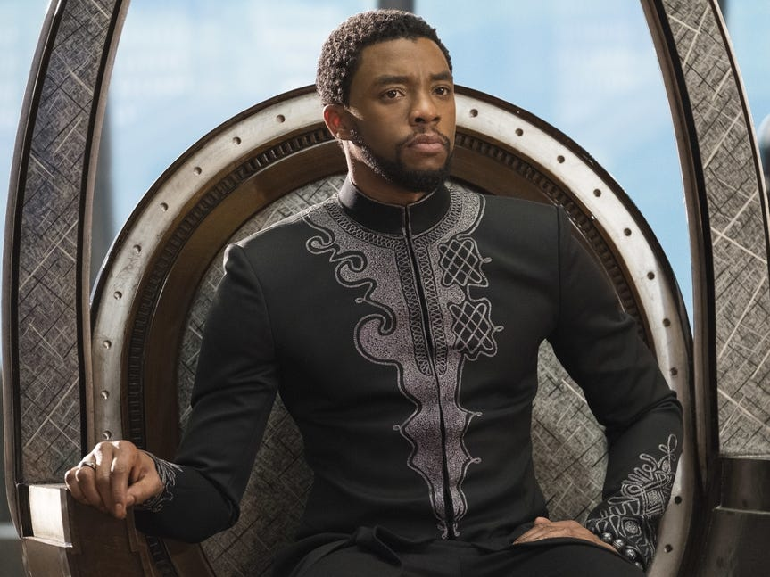 Chadwick Boseman's portrayal of T'Challa the Black Panther is iconic and transcends iteration of the character in any other medium from Marvel's past.