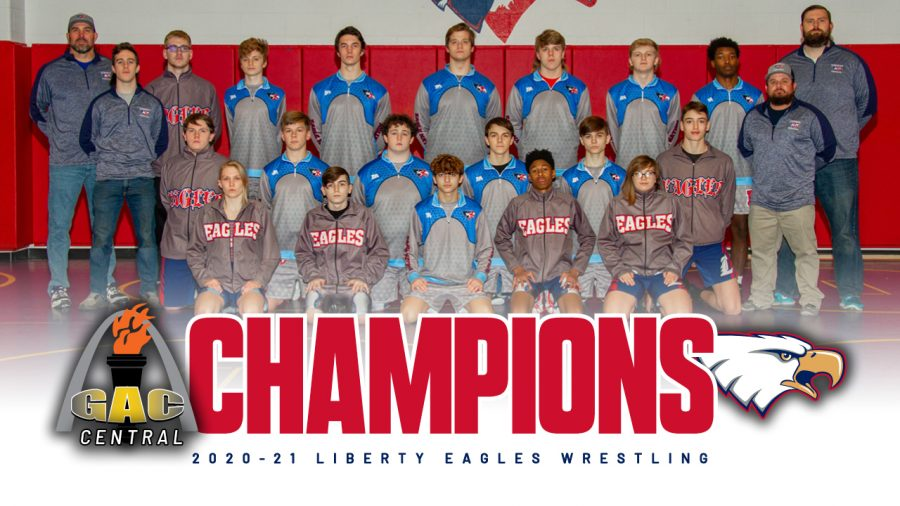 The wrestling team won the conference championship on Jan. 21, their first conference title since the 2015-16 season.