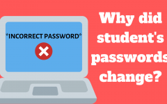 Many students have experienced their original passwords being rejected as they log into their Google accounts.
