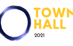 Official Logo of the 2021 Town Hall, hosted by LHS Publications.