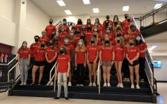 Throughout the week, teachers each gifted a Be Kind shirt to a student who exemplified what it means to be a kind person at Liberty High School. On Friday, these students were celebrated for their outstanding character.