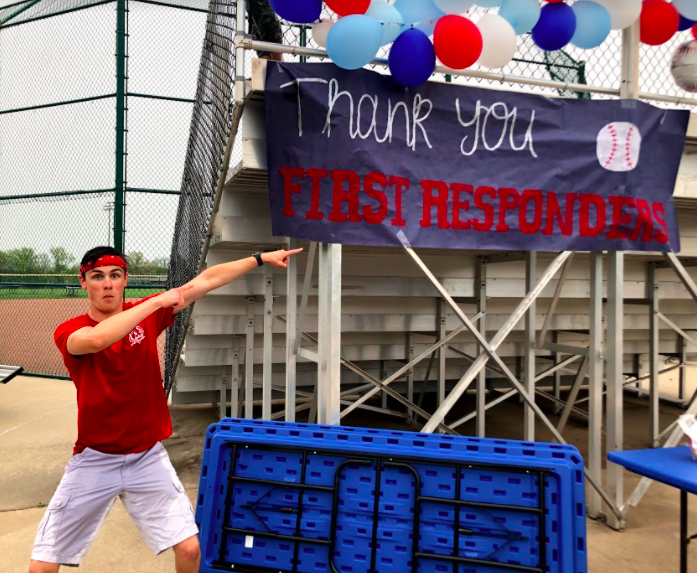 Student Council hosted Fastballs for First Responders which gave thanks to all local first responders including members of the fire department, paramedics and police department.