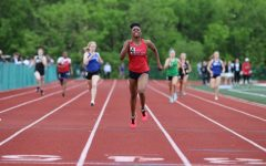 Karlie Wooten set a school record in the 400 meter at sectionals