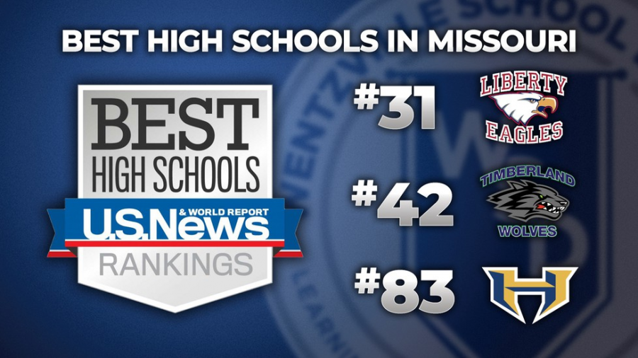 Liberty achieved a high ranking for best high schools in Missouri.