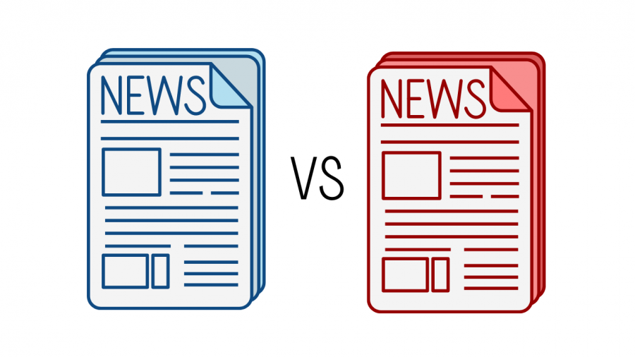 It is difficult to tell if a news source is left-leaning or right-leaning without consciously trying to identify biases.